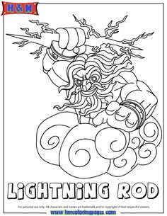 Skylanders Swap Force Water Lightcore Wham Shell Coloring Page | H & M Coloring  Pages | 305x236
