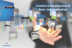How do you create and develop a basic #Java #Application?