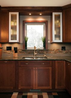 Renovated/renovating my new kitchen similar to this. It's amazing!