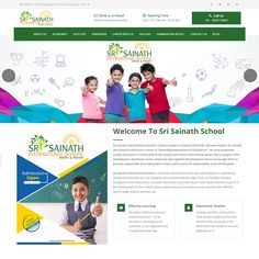 Website Design of SRI SAINATH INTERNATIONAL SCHOOL #WebiteDesign #WebsiteDevelopment #WebDesign #Website #Design #DesignSolution #NimixTechnology