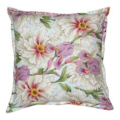 GREY GARDENS | Square Iris Cushion - Homeware - 5rooms.com