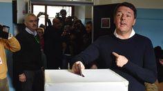 """Schicksalstag für Renzi: Sagt Italien """"Si"""" zum politischen Wandel?"""