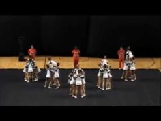 Chapin High School Cheerleading 14-15 at STATE - YouTube