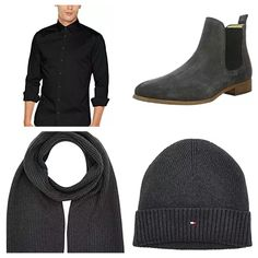 Styling Ideas For Men Fashion Hub, Mens Fashion, Fashion Tips, Fashion Trends, Smart Casual Men, Man About Town, Stylish Mens Outfits, Black And Grey, Fashion Accessories