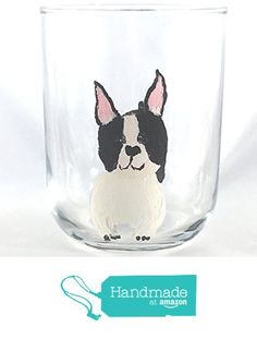 Hand Painted Boston Terrier 15 oz Tumbler from My Small Dog Collection from My Retirement https://www.amazon.com/dp/B01HKIXLH8/ref=hnd_sw_r_pi_dp_Xa0BxbQ2VVGE7 #handmadeatamazon