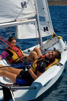 sailing girl | Centro Velico Caprera