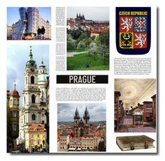 """European Vacation, Czech Republic"" by ucetmal-1 ❤ liked on Polyvore featuring art, european, Prague and Czech"