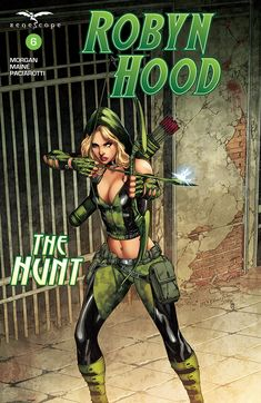 Robyn Hood: The Hunt #6 (Digital Cover) #Zenescope @zenescope  #RobynHood Release Date: 12/27/2017