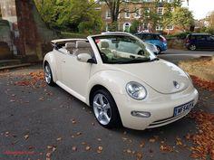 Volkswagen New Beetle, Beetle Car, Vw Beetle For Sale, My Dream Car, Dream Cars, Dream Auto, Dream Life, Vw Beetle Convertible, Bug Car