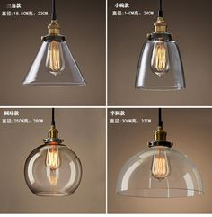 Antique light bulbs and led bulbs many styles tungsten filament designer lights loft restaurant bar taipei europe and the united states rural industrial wind creative single head glass pendant lamp pendant light parts aloadofball Choice Image