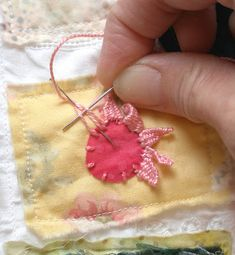 Embroidery:  How to and many pictures of different stitches.