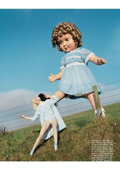 Like A Doll - Lindsey Wixson - by Tim Walker for Vogue Italia January 2012