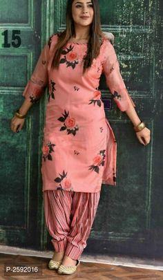 material salwar kameez indian orange suits dress women silk gift for Silk Salwar Suits Kameez Indian Salwar Kameez Dress Material Gift for Women Orange SALWAR KameeYou can find Designer punjabi suits and more on our website Patiala Suit Designs, Kurti Designs Party Wear, Salwar Designs, Blouse Designs, Salwar Dress, Salwar Kameez, Punjabi Salwar Suits, Churidar, Indian Attire