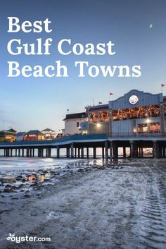 If you want to enjoy the warm waters of the Gulf of Mexico without splurging on an all-inclusive resort in Cancun, never fear. We've created a list of the best beach towns along the Gulf Coast that ar Us Beach Vacations, Texas Vacations, Beach Vacation Outfits, Vacation Destinations, Vacation Ideas, Vacation Places, Vacation Trips, Best Us Beaches, Florida Beaches