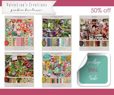 Valentina's Creations Goodbye Spring Sale