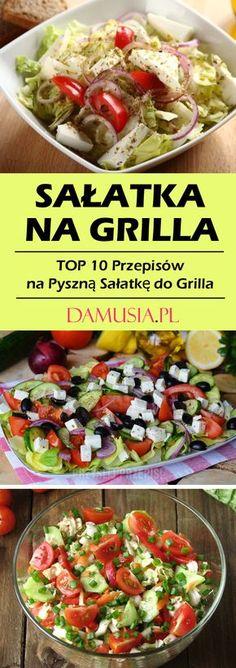 Sałatka na Grilla -TOP 10 Przepisów na Pyszną Sałatkę do Grilla Polish Recipes, Snacks, Tortellini, Light Recipes, Food Design, Finger Foods, Barbecue, Potato Salad, Salad Recipes