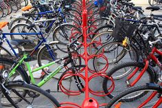 I love Bicycle stands by Tonyfoster, via Flickr