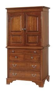 Amish Early American Armoire