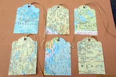 Set Of Tags-Travel Theme Wedding-Bridal Shower Tags-Party Favor Gift Tag-Atlas Map Tag-Destination Party Favors-Vintage Gift Tags Vintage Theme Bridal Shower, Rustic Theme Party, Bridal Shower Favors, Vintage Bridal, Vintage Gifts, Party Favors, Wedding Favours, Baby Shower Tags, Boy Shower