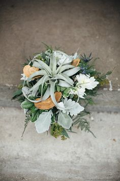 Earthy Industrial Bohemian Wedding Inspiration