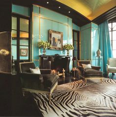 decorating with teal - Google Search