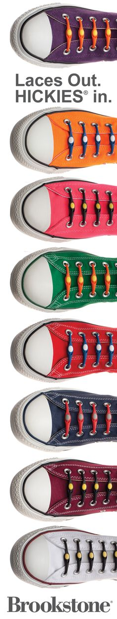 Love your kicks? Replace the lace with HICKIES! $19.99