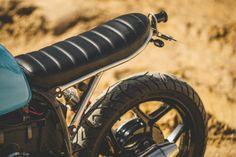 BMW R100 Brat Style by Retro Moto #motorcycles #bratstyle #motos | caferacerpasion.com