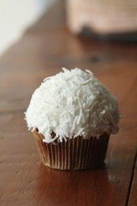 Chocolate Gluten Free Vegan Coconut Cupcake