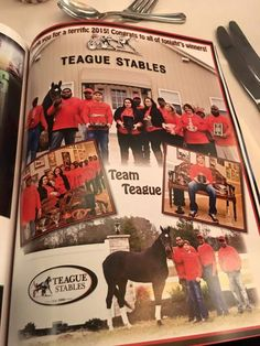 Teague Stables- Owner of Wiggle It Jiggle It