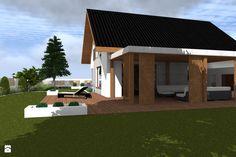 Domy styl Nowoczesny - zdjęcie od ap. studio architektoniczne Aurelia Palczewska-Dreszler - Domy - Styl Nowoczesny - ap. studio architektoniczne Aurelia Palczewska-Dreszler