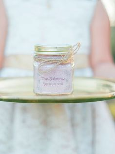 After spending the night boogying on the dance floor, a relaxing bath will be a welcomed gift by your wedding guests.