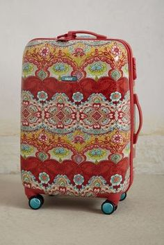 Luggage at Anthropologie! Cute.