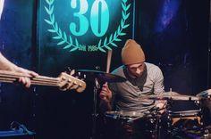 Matteo Canali, Mr Kite - Arci Area di Carugate (MI) 10.12 // Fotografie di Chiara Arrigoni del duo musicale Before Bacon Burns  #area #arci #rock #music #milan #mrkite #matteocanali #drum #drummer #lecco #batterista #cymbal #drumset