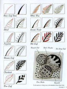 zentangle tutorial - Google Search