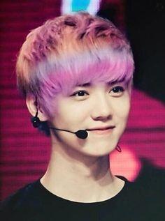 exo luhan hair color - Google zoeken