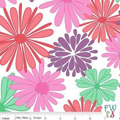 Floriography Main Print Purple Riley Blake