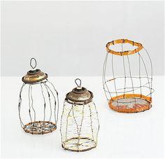 Wirework lanterns!