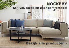 Bekijk de stijlvolle en comfortabele banken serie NOCKEBY