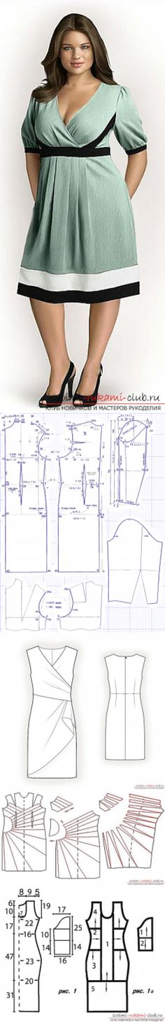 8 best patrones de ropa images on Pinterest | Dress patterns, Diy ...