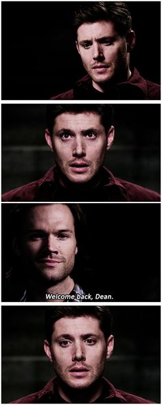 [gifset] 10x03 Soul Survivor - Poor Dean. He just doesn't want to feel the pain anymore.