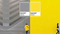 A marriage of colour conveying a message of strength and hopefulness The post Pantone reveals two colours for the year 2021 appeared first on Her World Singapore. Gray Pantone, Pantone Color, Colour Pallette, Color Pairing, Colored Highlights, Color Of The Year, Color Trends, Color Schemes, Colours