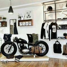 Jawa 350 #bobber at vagabond tattoo discover #motomood