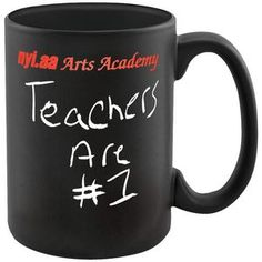 15 oz Chalkboard Mug | Minimum order 144, $4.30 ea.
