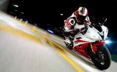 Red Yamaha Motorcycle Racing 1080p HD Wallpaper Sports My Board