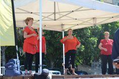 Journée Handisport Passion Partage, place d'Armes à Toulon, le 17 mai 2014. Concert en langage des signes.