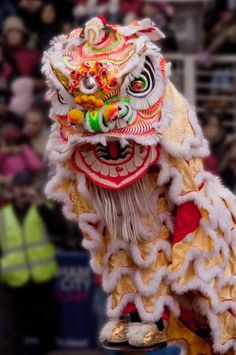 lion dance #chinese new year in multi -racial Singapore ..Http://patricialee.me