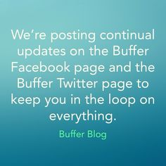 Buffer demonstrates the art of fessing up and fixing with transparency and speed.