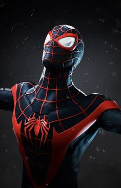 Black Spiderman, Spiderman Movie, Spiderman Spider, Amazing Spiderman, Black Panther Hd Wallpaper, Best Marvel Characters, Spiderman Tattoo, Spiderman Pictures, Marvel Entertainment