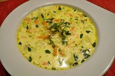 This zucchini soup is addictive, a delicious recipe from the student kitchen category. Ratings: Average: Ø This zucchini soup is addictive, a delicious recipe from the student kitchen category. Easy Soup Recipes, Veggie Recipes, Diet Recipes, Vegetarian Recipes, Healthy Recipes, Pizza Recipes, Snacks Recipes, Appetizer Recipes, Diet Food List