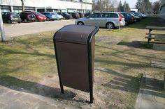 Afvalbakken FalcoJona voor Philips' buitenterrein